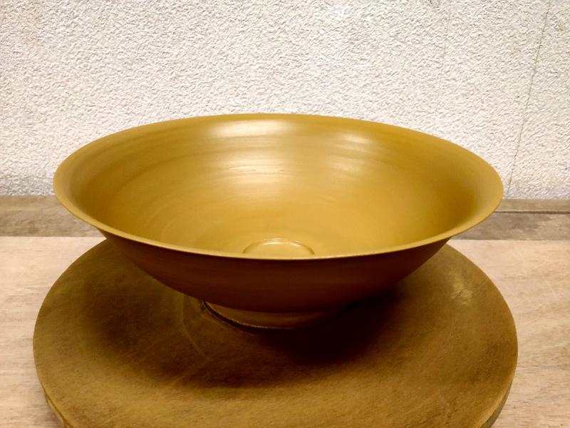 鉢のロクロ成形
